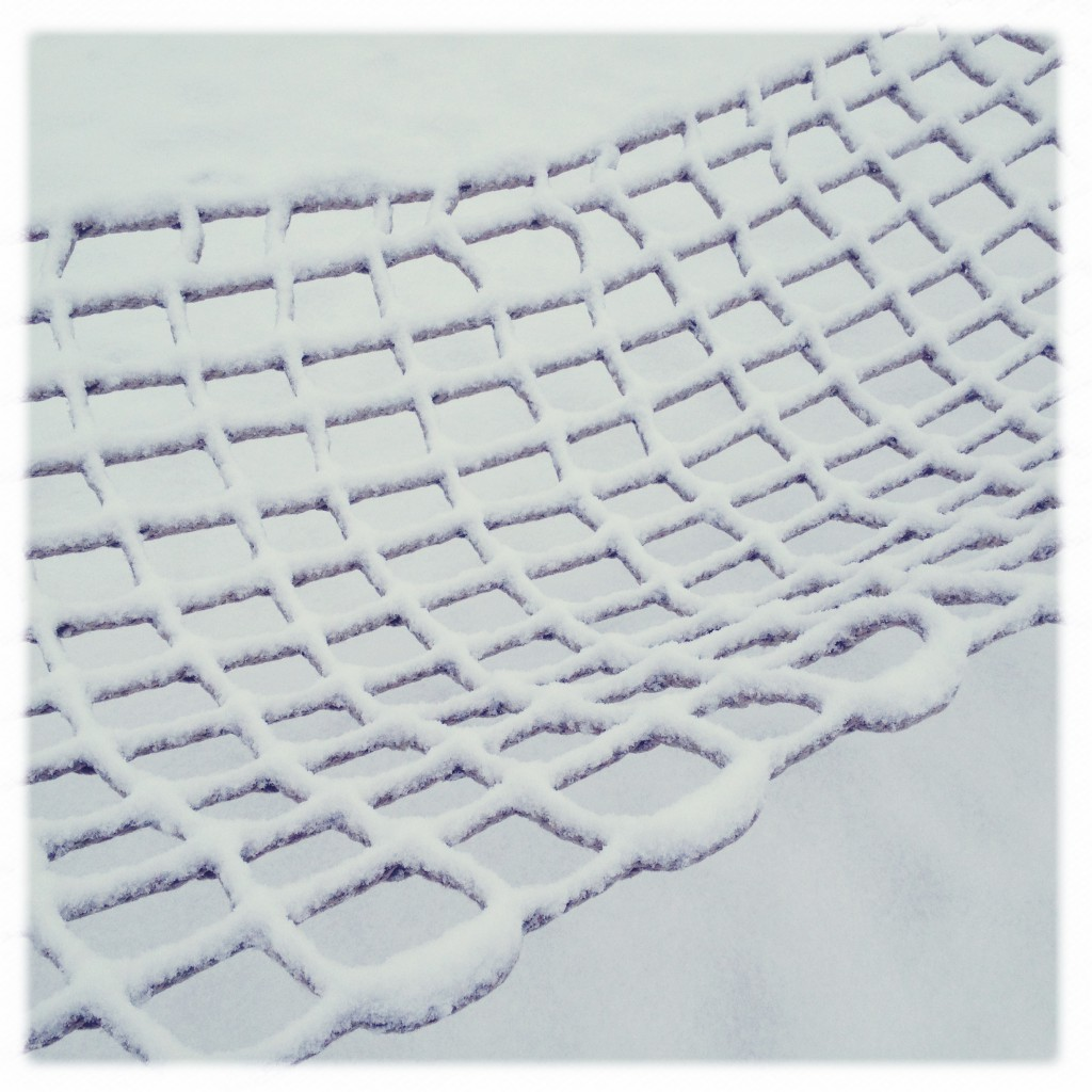 Hängematte im Schnee