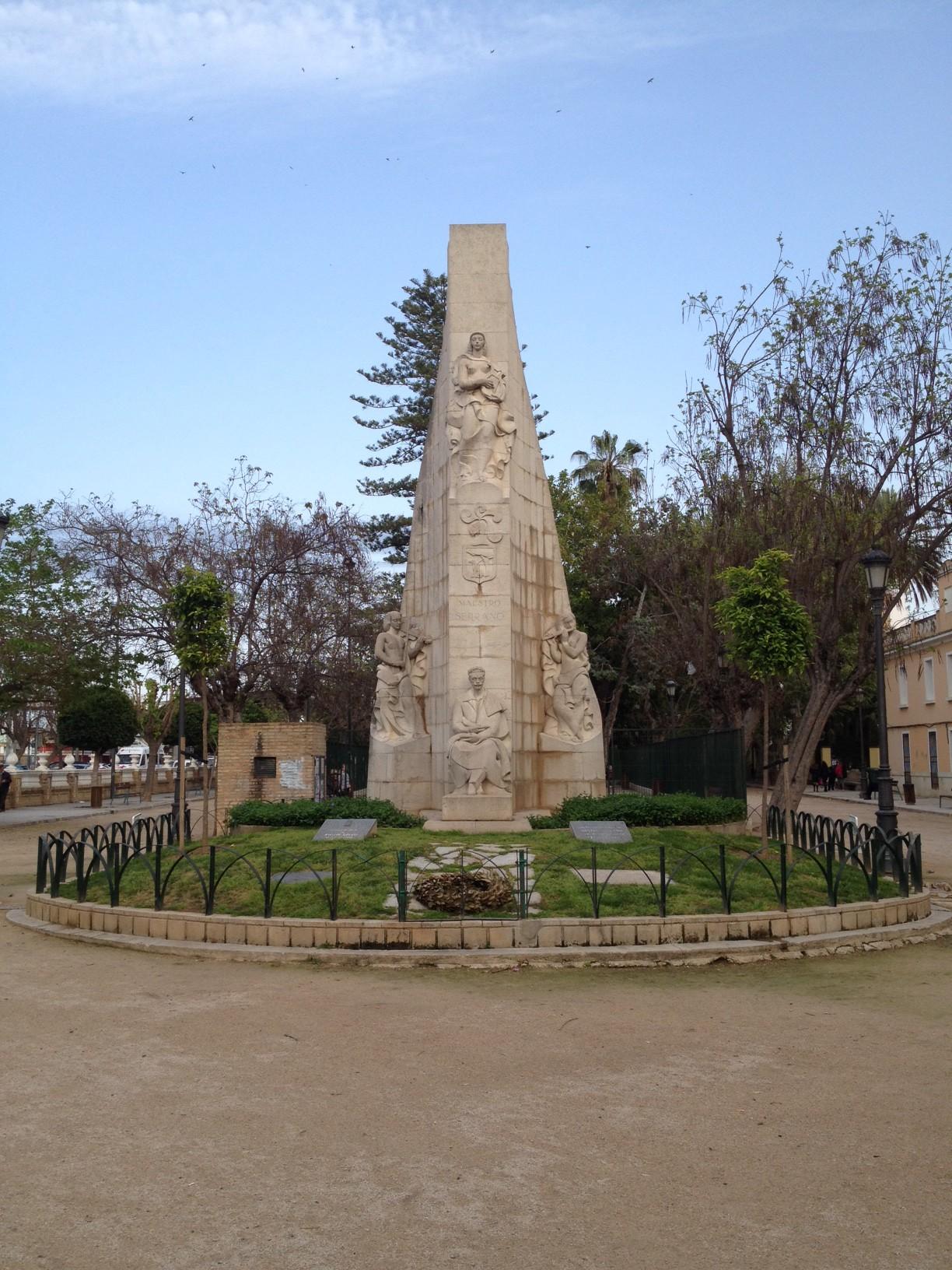 Denkmal in Sueca